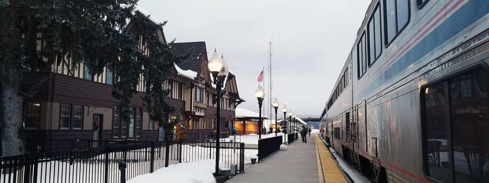 Amtrak's Empire Builder – in the Winter!